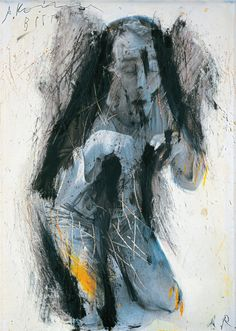 Painting by Arnulf Rainer.