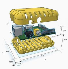 Tinkercad is an easy-to-use 3D CAD tool