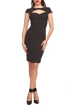 Hell Bunny Sandy Pencil Dress $49.50. Love pin up style dresses!