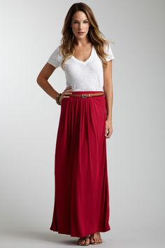 this is the color maxi skirt I want