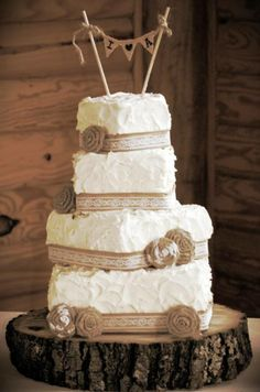 wedding cakes on pinterest lace wedding cakes burlap and lace