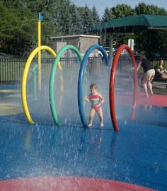 Summer Guide 2012: Spraygrounds & Splash Parks in Chicago's Western Suburbs - Keeping Families West of Chicago in the Loop - Go West Young Mom