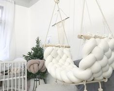 Swings for gorgeous interior decor image 1 What is Decoration? Decoration could be the art of decorating the interior and … Interior Design Elements, Beautiful Interior Design, Beautiful Interiors, Interior Design Living Room, Interior Decorating, Dream Rooms, Dream Bedroom, Girls Bedroom, Boys Bedroom Paint