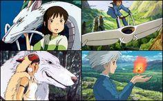 Studio Ghibli Characters   Ghibli films: Spirited Away , Nausicaa of the Valley of the Wind ,