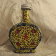 flacon en porcelaine de Chine XX ème - China porcelain flask - 中国瓷瓶 | eBay