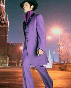 Looking marvelous in purple