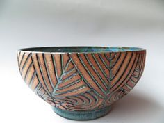 carved pottery tiles - Google Search