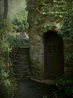 whimsical-nostalgia: bluepueblo: Ivy Tower Entrance, Worcester, Massachusetts photo via misaddie Nice to have something close pop up on my dash Nature Aesthetic, Abandoned Places, Belle Photo, Faeries, Aesthetic Pictures, Fairy Tales, Places To Go, Beautiful Places, Scenery