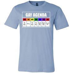 Spec Canvas 3001 Unisex Short Sleeve Jersey T-Shirt oz 30 singles Combed and ring-spun cotton Shoulder taping Side seamed - Unisex fit This super-soft, baby-knit t-shirt looks great on both Gay Pride Shirts, Gay Outfit, Pansexual Pride, Lgbt Love, Lgbt Community, Baby Names, Funny Shirts, Cool Outfits, Prince