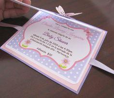 A. Invitaciones de Baby Shower | Mi linda inspiracion