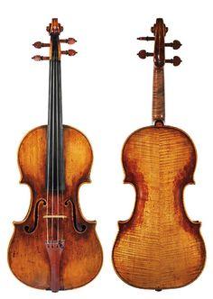 Giuseppe Guarneri del Gesù (1698-1744) - *Moller* - Cremona (c.1725) #guarneri #moller #violin