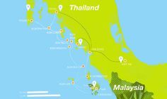 Wide How to get to Koh Lipe Map - Ultimate Koh Lipe Guide