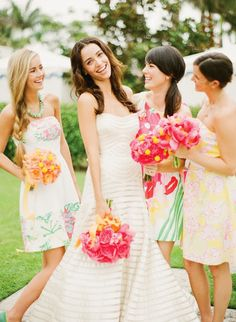 A Lilly Pulitzer Inspired Wedding!- The Glam Pad