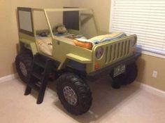 Jeep bed