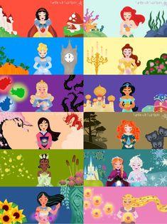 Cute Disney Drawings, Disney Princess Drawings, Disney Princess Art, Disney Princess Pictures, Disney Nerd, Disney Fan Art, Disney Pictures, Disney Names, All Disney Princesses