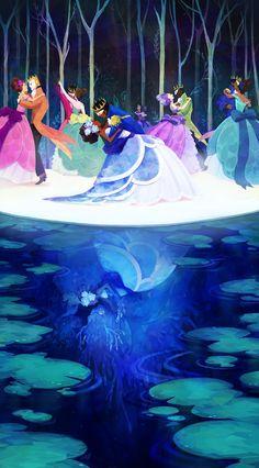Twelve Dancing Princesses, by Lady Garland