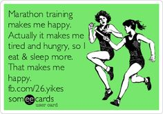 Marathon Training Makes Me Happy