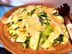Salada de abobrinha marinada | Da Feira ao Baile