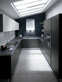 A Short House Guide For contemporary interior design ideas decor Minimal Kitchen Design, Kitchen Room Design, Kitchen Cabinet Design, Home Decor Kitchen, Interior Design Kitchen, Kitchen Ideas, Kitchen Designs, Kitchen Furniture, Cuisines Design