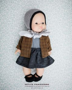 Image of petite parisienne Baby Crafts, The Dreamers, Armoire, Needlework, Doll Clothes, Dress Up, Dolls, Birthday, Fun