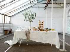 minimal, industrial, beautiful tablescape.... inspiration from IKEA