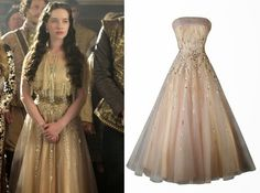 !! REAL- MY ROYALS !!: Reign Style : Season 2 episode 3 Lola's Sequined Tulle Gown