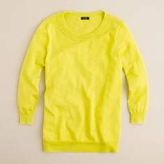 j crew has the loudest yellows in the world this spring and i don't hate it.