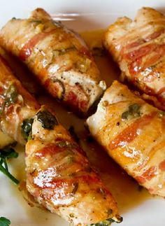 Low FODMAP Recipe and Gluten Free Recipe - Chicken breasts stuffed with sage and…