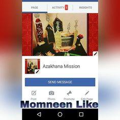 Momneen Like Azakhana Mission Official Facebook Page  http://ift.tt/2e7oYw4 AZAKHANA_MISSION  Ap Apne Azakhane kay pic Upload Karwane K liye hame pics and detail message karen  Note: Message Karnay K Liya Yeh Link Open Karay  http://ift.tt/2euWmv6  #AZAKHANA_MISSION