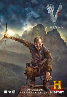 Vikings' Floki played by Gustaf Skarsgard. Whimsical, mystical, loyal, deadly.