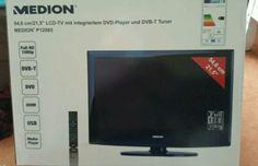 """Biete hier einen sehr guten LCD TV an. 54,6cm/21,5"""", mit integriertem DVD Player und DVB-T Tuner. Schwarzer Klavier Lack. Mit USB, HDMI,Full HD 1080p......Mit FB und Wandhalterung, da der Standfuß nicht mehr vorhanden ist. Das ist der Einzige Mangel. Mit Beschreibung im original Karton. Funktioniert einwandfrei. An Selbstabholer!!! Da privat ohne Garantie und Rücknahme!"""