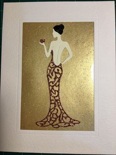 Art Deco Cards, Tattered Lace Cards, Dress Card, Spellbinders Cards, Die Cut Cards, Handmade Birthday Cards, Art Deco Design, Paper Background, Card Tags