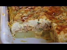 Zapiekanka ziemniaczana smakowita z kalafiorem, mielonym przepis Lasagna, Food Heaven, Ethnic Recipes, Lasagne