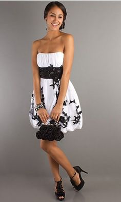 Second option for homecoming dress<3 Or this one would be good(: