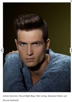 Gorgeous men's hair cut www.modernsalon.com