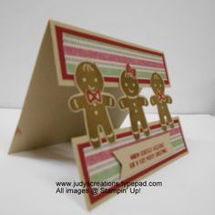Stampin' Up! Cookie Cutter Christmas DSC #208 by Judy Strickling