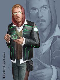 Michael - Cylones Sekretär