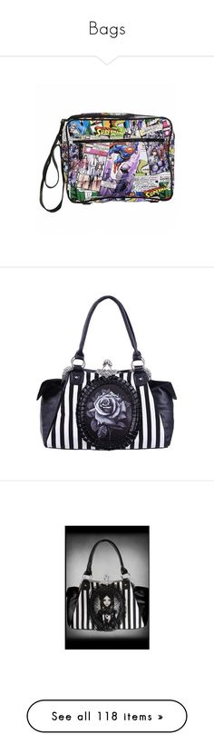 """Bags"" by lost-girl-reily ❤ liked on Polyvore featuring bags, messenger bags, superman messenger bag, comic book, superman bag, retro bags, cartoon messenger bag, handbags, rose handbag and handbags bags"