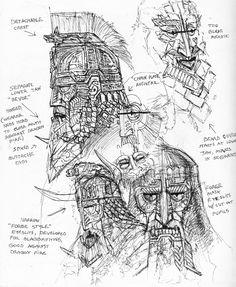 Dwarf War Masks by TurnerMohan.deviantart.com on @DeviantArt