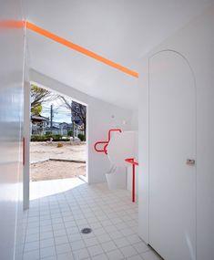 hiroshima park restrooms interior - Japan byfuturestudios13