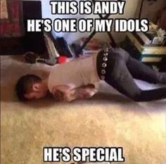 Yes Andy your one of my idols :) And so is Ash & Jinxx & Jake & we cant forget CC :)