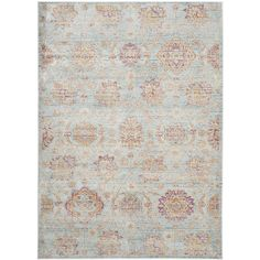 Safavieh Teppich safavieh dip dye ivory blue area rug 8 x 10 361 project