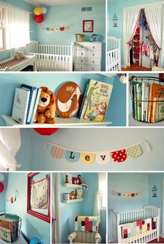 primary colors baby room