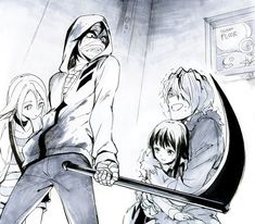 Znalezione obrazy dla zapytania Satsuriku no Tenshi