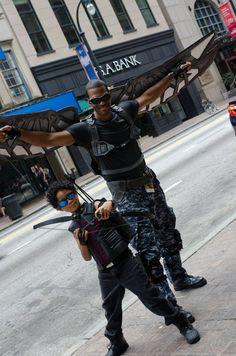 Hawkeye & Falcon - Dragon*Con 2014
