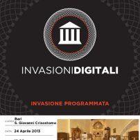 #invasionidigitali in #Puglia! Ecco l'elenco degli appuntamenti ;)