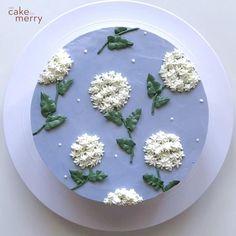 Cake Decorating Frosting, Cake Decorating Designs, Creative Cake Decorating, Cake Decorating Videos, Cake Decorating Techniques, Cake Designs, Cake Piping, Buttercream Cake, Dessert Decoration