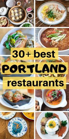 Top Portland Restaurants: see the best PDX things to do in the city for lunch or dinner if you're a foodie. Get must see tips for planning a trip to Portland with this city guide for lunch and brunch! Oregon Vacation, Oregon Road Trip, Oregon Travel, Travel Usa, Portland Food, Visit Portland, Portland Maine, Portland Restaurants, Kitchens