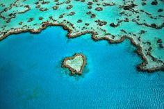 14 Seen, Inseln, Canyons in Herzform: Wo uns die Natur ihr Herz zeigt