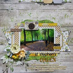 "#papercraft #scrapbook #layout.  Lou's World: Simple Stories ""The Story of Us"" for All About Scrapbooks"